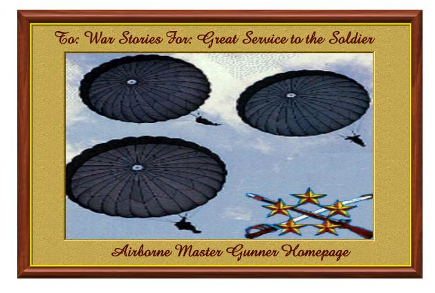 Airborne Master Gunner's Top Site Award