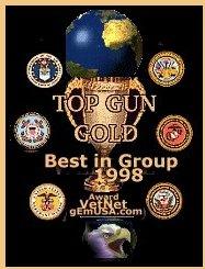 TOP GUN GOLD, Best in Group 1998 Award!