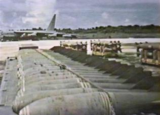 B-52 B52 Bombs waiting to load