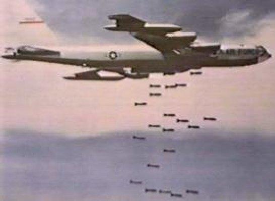 B-52, Bombs Away ...