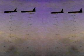 B-52, and ... Bombs Away!