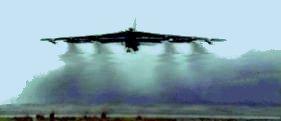 B-52 Take off