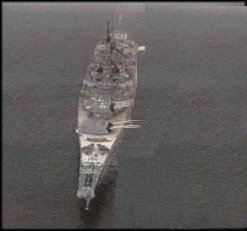 USS New Jersey, Animation by Don Poss, WS LM-01.
