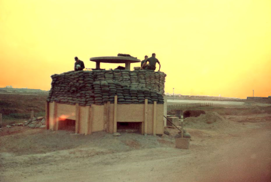 Bien Hoa AB, SPS Bunker Hill 10, Jan 1965, by Howard Yates.