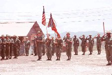 Colors: Alpha Battery, 1st Battalion, 44th Artillery