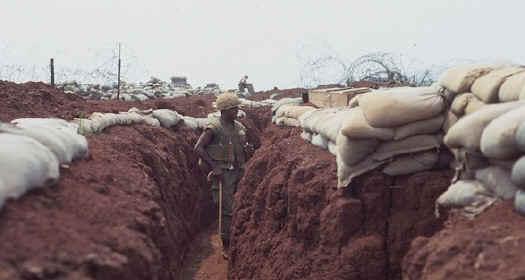 Khe Sahn - Trench warfare