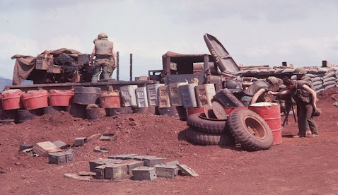 Khe Sahn - Battle Damaged Truck