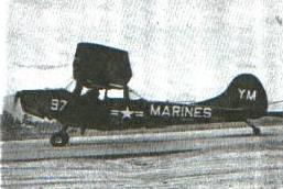 USMC Cessna OE Bird Dog single-engined utility aircraft (later designated O-1B)