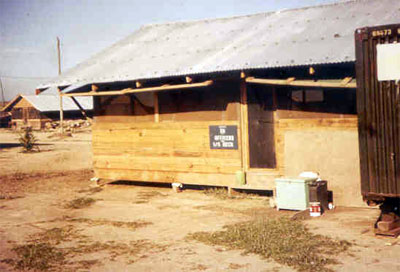 Duty Station in the HHC supply/arms room