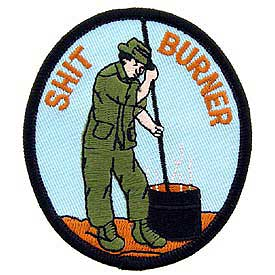 S-Burning patch.