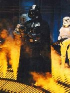 Lord Darth Vader exclaims Outrage at President Clinton's Pot Smoking weakness.