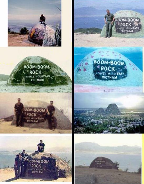 21. Da Nang AB: 366th TFW: Views from Monkey Mountain and Boom-Boom Rock. 1969. [Peter Halferty photo].