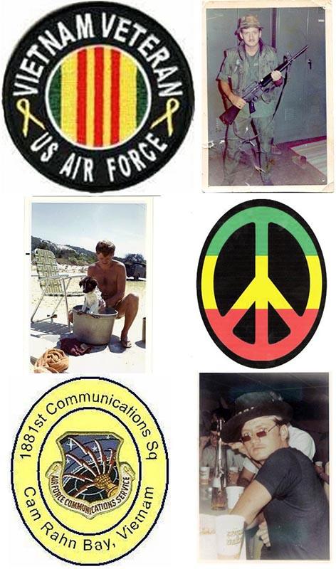 24. Da Nang AB: 366th TFW: 1881st Communications Squadron. 1969. [Peter Halferty photo].