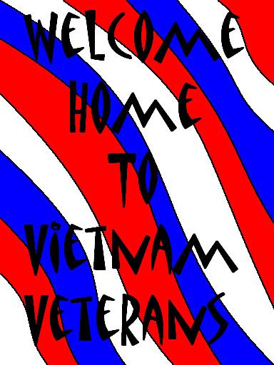 28. Da Nang AB: 366th TFW: Welcome Home to Vietnam Veterans. [Peter Halferty photo].