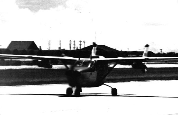 3. Da Nang AB, 366th TFW: O2B Cessna Skymaster (push-pull). 1969-1970. [Photo by Ed Burchard].