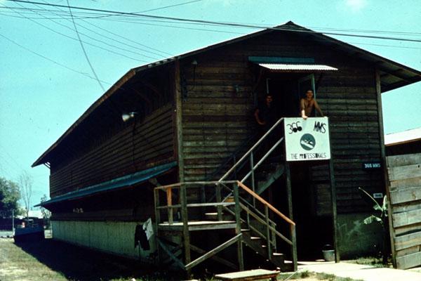 17. Da Nang AB, 366th TFW: Like home again. 1969-1970. [Photo by Ed Burchard].