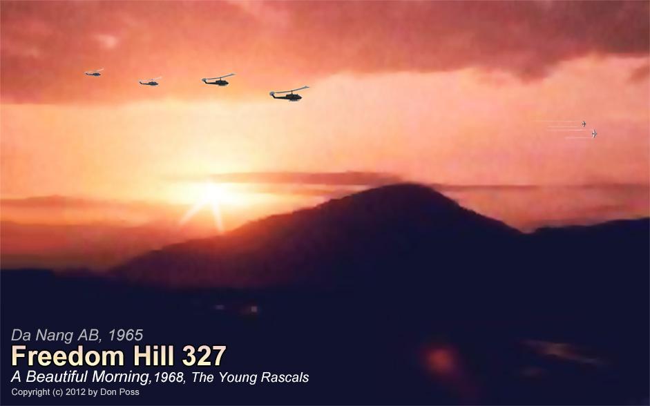 A Beautiful Da Nang Air Base Morning, 1965. © 1995 by Don Poss