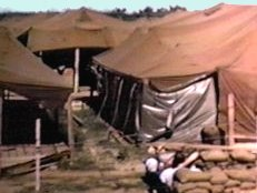 Da Nang 1965: 35th APS Tent City.