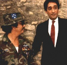 Pat with then, Mayor Henry Cisneros