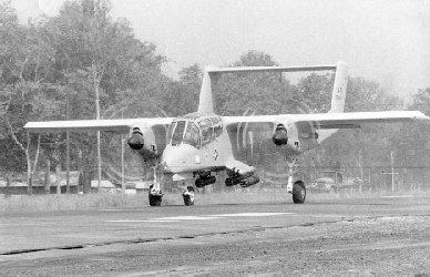 OV-10 aircraft