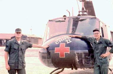Wild Child II: Huey Chopper, Dennis Telischak, my Medic, and Richard Cunnare, March 1968