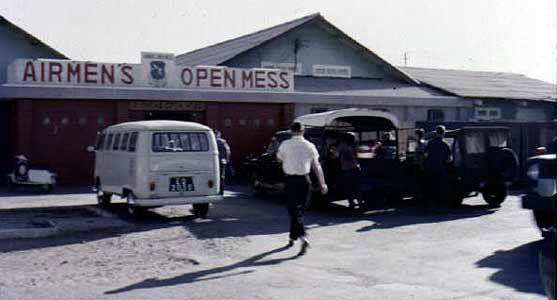 Tan Son Nhut AB, Airmen's Mess 1966.
