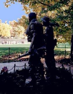 Fighting Men sculpture