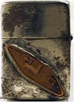 Zippo: (Front) US Brown Water Navy