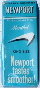 C-Ration Newport Cigarettes