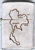 Zippo (Front): Neal, Kenneth, MAP THAILAND , Ubon RTAFB, 8th SPS; Udorn RTAFB, 432nd SPS, K9: Max K000; Prince 563M, Rinny 53X4, Major 27M7, 1968-1969; 1974-1975