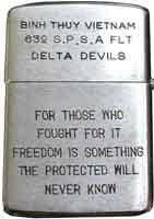 Zippo: (Back) Lighters We Carried in Vietnam and Thailand