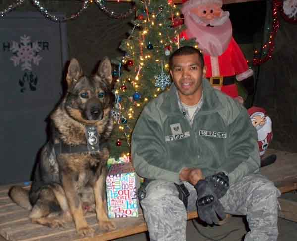 USAF 56th SFS, K-9 Kisma, Military Working Dog. 2009.