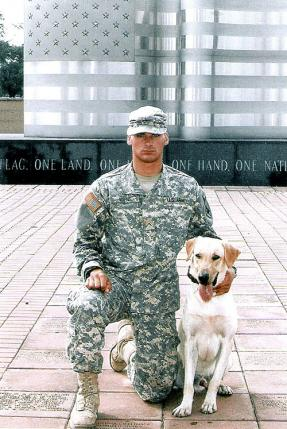 Army US Army Cpl. Kory D. Wiens, and MWD Cooper.