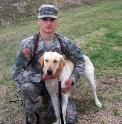 3. Army MWD Cooper, KIA 6 July 2007. 94th Mine Dog Det, 5th Engineer Bn, 1st Engineer Brigade.