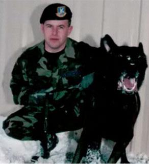 TSgt Jason L. Norton, k-9, 3rd SFS. 2006.