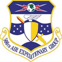 Shield: 506th Expeditionary Security Forces Squadron, Kirkuk Regional Air Base, Iraq
